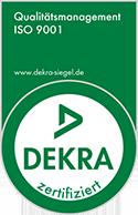 Dekra zertifiziert - ISO 9001